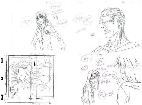 settei, genga, douga layout, storyboard Genga-02