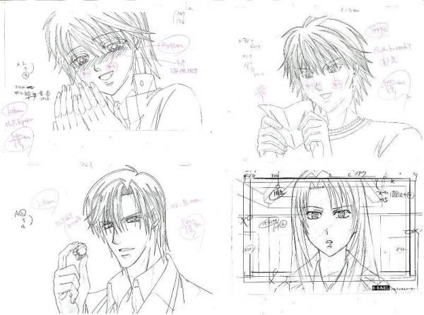 settei, genga, douga layout, storyboard Genga-03