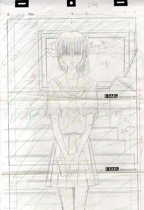 settei, genga, douga layout, storyboard Layout-01