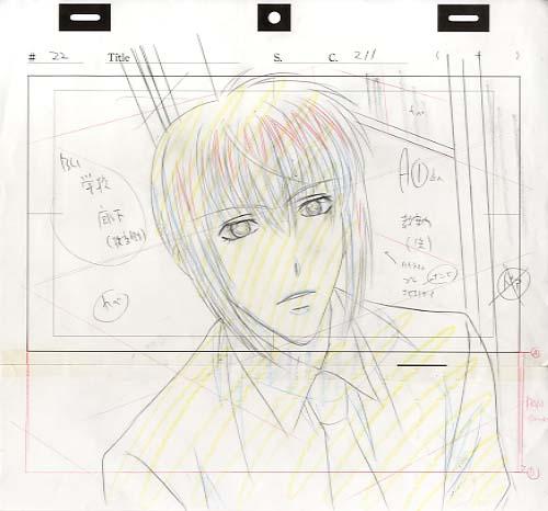 settei, genga, douga layout, storyboard Layout-02